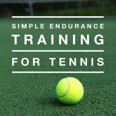 Tennis Mini-Course - Simple Endurance Training for Tennis #lawnclubtennis #tennistraining #getfit