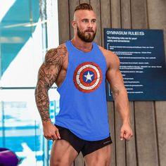 Bodybuilding and Fitness men undershirt tank
