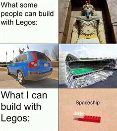 The Truth About Building Stuff With Legos
