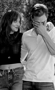 Jamie and Dakota look amazing here. They are super sexy and their sense of humors match!! 50 Shades of Christian and Ana