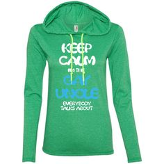 Keep Calm I Am The Gay Uncle Everybody Talks About-01 887L Anvil Ladies' LS T-Shirt Hoodie