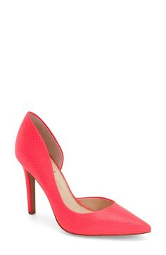 38fe1cfe43eb Jessica Simpson  Claudette  Half d Orsay Pump A girl needs a great pair
