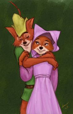 Outlaw for an inlaw by ~Starlettegurly on deviantART I was so in love with the fox from robin hood when I was little.