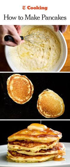 Perfect Buttermilk Pancakes. Breakfast TablesThe BreakfastBreakfast  DishesPerfect BreakfastBreakfast RecipesHow To Make ...