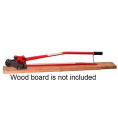 """HIT Tools 3/4"""" Manual Rebar Bender Cutter Combo 22-RC19"""