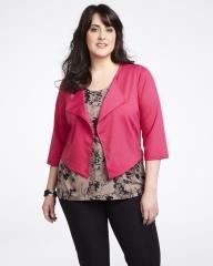 asymmetric short jacket   Shop Online at Addition Elle