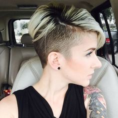 This makes me want to shave my sides again #yes or #no #undercut