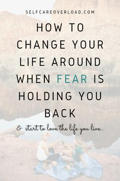 Is fear controlling your life? Want to know the signs that fear is holding you back? learn how to change your life around and stop letting fear hold you back in life. Be happy. Live free.