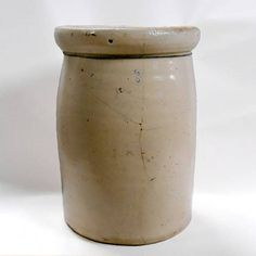 Antique Vintage glazed stoneware butter churn crock 3 gallon   #Antique #Vintage  #stoneware #butter #churn #crock 3 #gallon #jar #jug #farmhouse #pottery #cabin #decor #etsy #collectables #collectibles