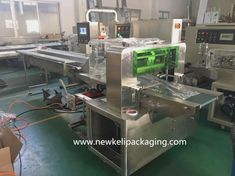 Multipack Chips Bag Flow Wrapping Machine