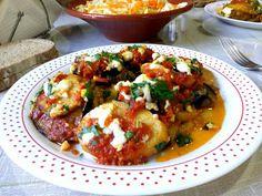 Μελιτζάνες με πατάτες κ φέτα φούρνου !!! ~ ΜΑΓΕΙΡΙΚΗ ΚΑΙ ΣΥΝΤΑΓΕΣ 2