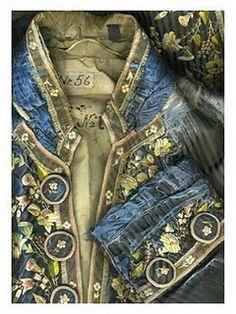 vintage ballet costume - blue