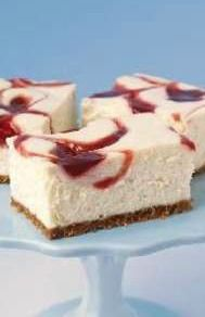 PHILADELPHIA New York-Style Strawberry Swirl Cheesecake – It's all here in the recipe: creamy cheesecake, strawberry jam, a crunchy graham cracker crust. Plus, there's a super-easy, insider technique for achieving the perfect swirl!