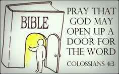 Colossians 4:3 | by joshtinpowers