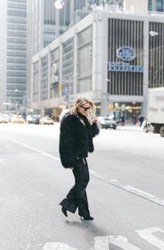coat / Pellobello -  pants / Filippa K - sunglasses / Celine - bag / Saint Laurent | Linda Juhola