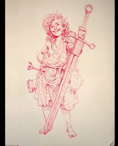 Day 243:  The nickname had been on her since she was in the crib, her brothers' teasing tribute for how greedily she would call their mother's attention. Later it had served to turn her pink with fury and sent her chasing the louts around the holdfast they called home.