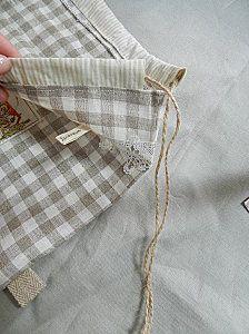 """À faire soi-même. (AFSM) : Leçon de couture N° 8  """" Plume de lin""""."""