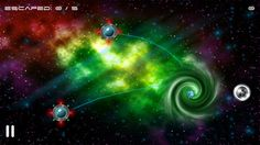 Alien Escape Control (Free) for iPhone, iPad, iPod Touch. Their planet is about to explode and these aliens need your help to reach their new home through space wormholes.