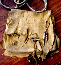 Primitive Mountain Man Possibles Bag or Grungy by misstudy on Etsy