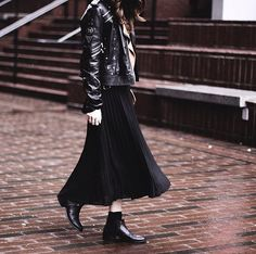 31 Easy Black Outfits That Will Speak to Your Soul: While we're not quite at Wednesday Addams's level, we've definitely got a thing for chic black looks.