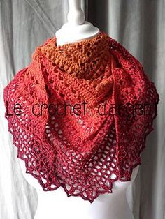 Summer in Sevilla - free crochet pattern with charts in English or French at Le Crochet d'Argent