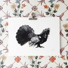 The Capercaillie fine art print is produced on a high-quality acid-free fine art paper. Actual artwork size: 40 x 30 cm. A limited set of 50 prints, signed and numbered by the artist. Fine Art Prints, Framed Prints, Black And White Wall Art, Sustainable Design, Painting Frames, Scandinavian Design, Fine Art Paper, Unique Art, Rooster