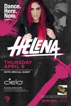 Tickets DJ Helena – The Shake It Tour APR. 9 @ CIELO – New York, NY | Anew Productions's Blog