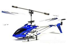 S107G Mini Gyro Remote Control Helicopter, Blue