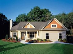 Eplans Country House Plan - One-Level Beauty - 1406 Square Feet and 3 Bedrooms from Eplans - House Plan Code HWEPL11793