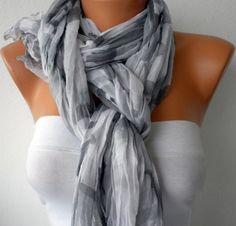cute way to tie scarf