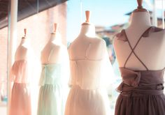 5 steps to follow when mismatching your bridesmaids dresses