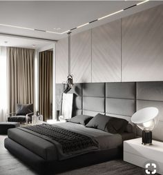 51 The Best Bedroom Design Ideas for You to Apply in Your Home - Bedroom Decor - Luxury Bedroom Design, Master Bedroom Design, Luxury Home Decor, Home Decor Bedroom, Bedroom Ideas, Bedroom Designs, Bedroom Furniture, Bedroom Apartment, Ceiling Design For Bedroom