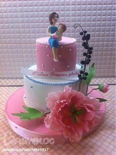Торт для мамы и дочки, которые родились в один день! - Кондитерская - стр. 1 - Babyblog.ru