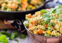 Quinoa Curry Bowl - Forks Over Knives