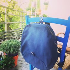 A small backpack/pur