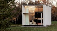 KODA prefab brings factory quality and modern design to tiny living Lloyd Alter ( Design / Modular Design July 2016 © Kodasema/ Paul Kuimet Dezeen points us to a neat modern little prefab, the KODA, from Estonian design collective Kodasema Building A Container Home, Building A Tiny House, Green Building, World Architecture Festival, Architecture Design, Facade Design, Mobile Architecture, Garden Architecture, Amazing Architecture