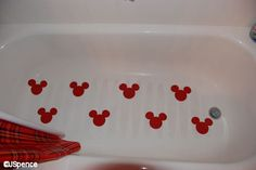 Creative Ways You Can Improve Your Mickey Mouse Bathroom: Mickey Mouse Bathroom Ideas, Mickey Mouse Bathroom Collection, Mickey Mouse Bathroom Accessories, Mick. Minnie Mouse House, Mickey House, Disney Mickey Mouse, Casa Disney, Disney Rooms, Bathroom Kids, Kids Bath, Mickey Mouse Bathroom, Disney Home Decor