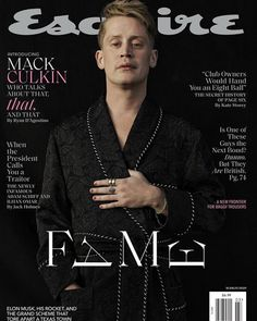 For Esquire's March 2020 issue, Home Alone actor Macaulay Culkin discusses life today, his relationship with girlfriend Brenda Song, taking drugs, and how him and brother Kieran Culkin reacted to their sister's death. Brenda Song, James Franco, Mad Love, The Americans, Nurse Jackie, Ray Donovan, It Crowd, Boardwalk Empire, Magic Mike