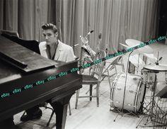 Rare Elvis Presley 1956 Photo 8.5X11 High Quality Photographic Print Piano   eBay