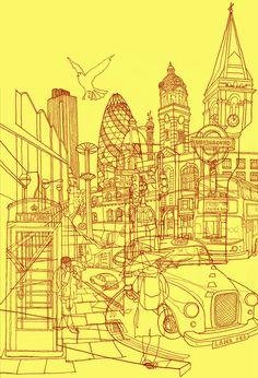 London!  by David Bushell