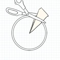 Learn how to cut parchment paper into a circle for lining cake pans.