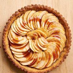 apple-walnut tart