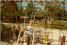 Horse Swings  If you got going too fast you'd smash your chin off the horses head. No wonder they did away with these.