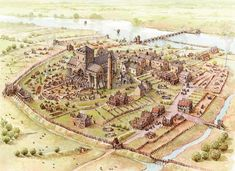 Building the Cathedral in Kilkenny during the 13th Century by Philip Armstrong
