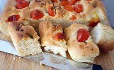 Rezept für Focaccia mit frischen Tomaten, Brot, italienisch, einfach Pie, Desserts, Tomatoes, Brot, Food Food, Simple, Torte, Tailgate Desserts, Postres