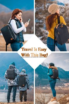 "👍 Travel Is Easy Now! 👍 Perfect Bag For Travel! 😍 ✅ Lots of Organizing Compartment ✅ Stylish and Functional Design ✅ Burden Reducing Ergonomic Design ""I got this backpack, and was a bit sceptical beca Bag Essentials, Sac Week End, Photos Voyages, Packing Tips For Travel, Suitcase Packing, Travel Checklist, Travel Suitcases, Packing List Beach, Packing Hacks"