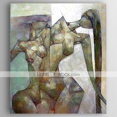 Dipinta a mano RitrattiModern Un Pannello Tela Hang-Dipinto ad olio For Decorazioni per la casa del 4880147 2017 a €56.58