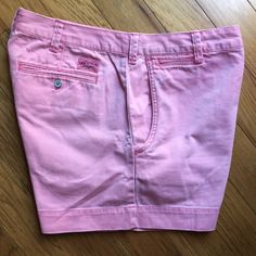 """New Listing Polo by RL High Waist Shorts SZ 10 Polo by Ralph Lauren  High Waist Shorts Size 10. Gorgeous Pink Vintage wash. Perfect for Spring/Summer. Rise 12"""" / Inseam 3"""". Pet Free ✔️ Smoke Free ✔️. Reasonable Offers Welcome. Not looking to trade, thanks!  Ralph Lauren Shorts"""