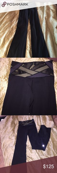 RARE Lululemon Camo Yoga Pants. Size 4 (TALL) These pants are perfect for almost every activity!!  I have worn these ONCE!! They are super long on me ( I am 5 feet tall) and I haven't had the time to take these in to get them hemmed!! You can take them to any Lululemon and they will hem them for you, free of charge!!! These also come with the LULULEMON BAG lululemon athletica Pants Leggings