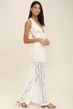 v neck plunge dress plus size ivory